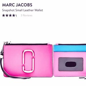 THE MARC JACOBS- Saffiano Leather ID Wallet